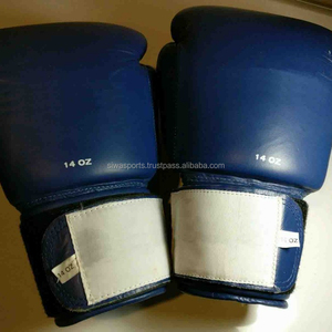 Thai Boxing Sparring blue Gloves