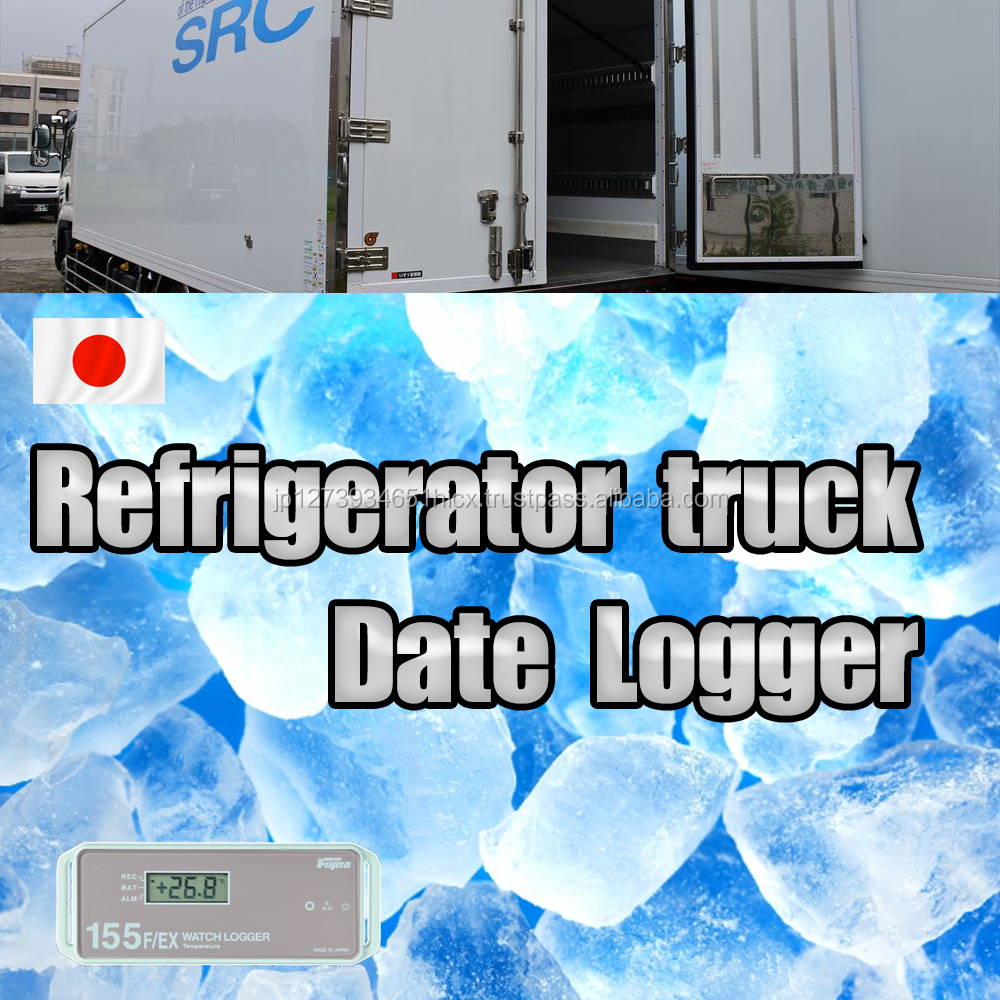 Refrigerator truck Date Logger keep something in a freezer