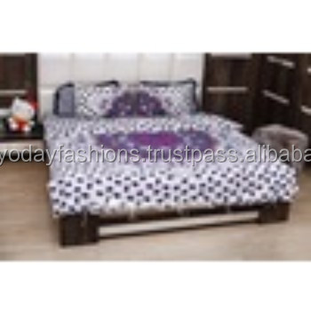 Indian Blanket Throw With Pillow Organic Cotton Filling Comforter Set Mandala Duvet