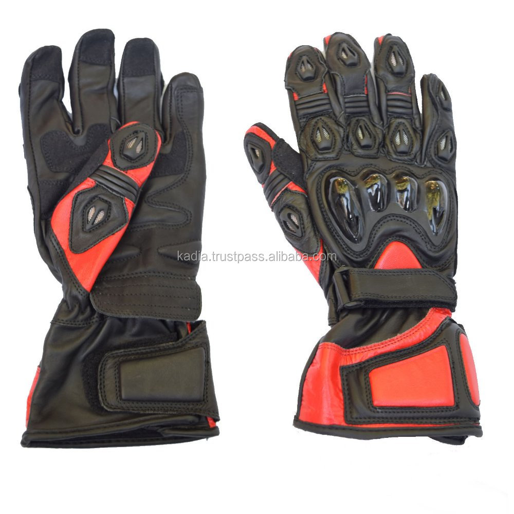 Heavy racing gloves