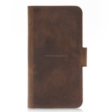 New style Leather wallet case for iphone X