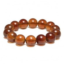 Natural amber from baltic Dark honney amber bracelet