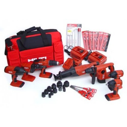 Hilti 7 Tools Cordless Combination Package