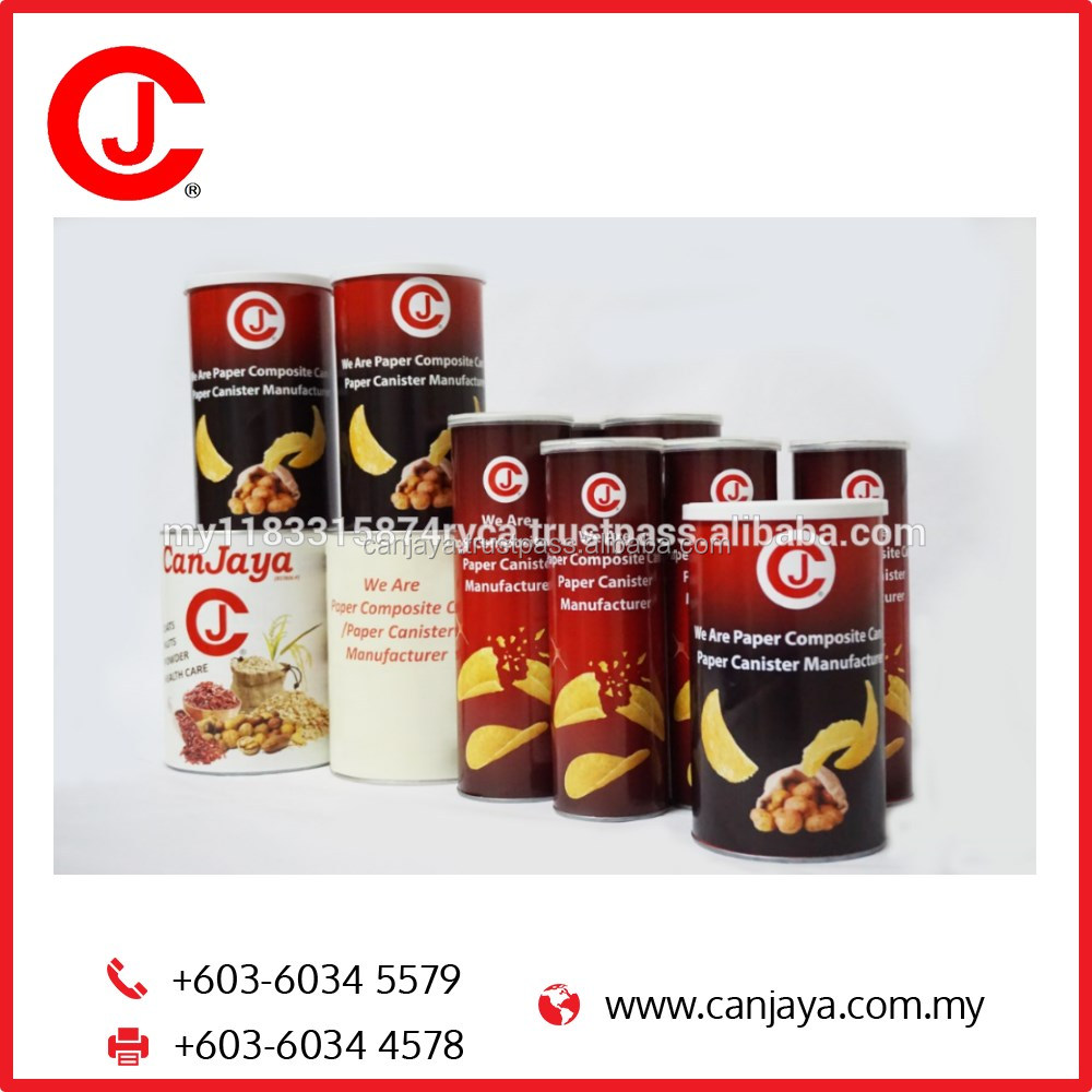 Composite Can for Dry Food Fruits Powder Snack Spice Candy Confectionery