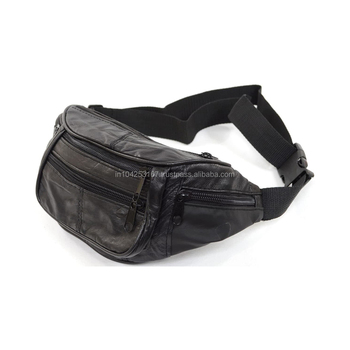 Personal custom fanny pack PU leather