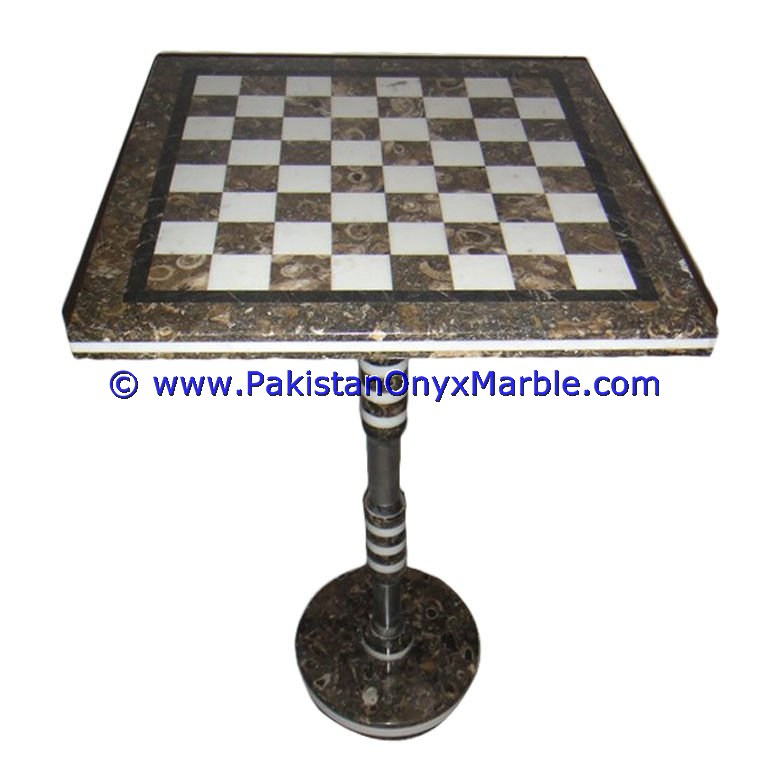 NATURAL COLOR MARBLE TABLES MODERN CHESS TABLE COFFEE NATURAL STONE CHESS FIGURES