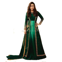 Kareena Kapoor In Deep Green Double Layer Anarkali Suit / Anarkali Salwar Kameez Online Shopping / Exclusive Salwar Suits