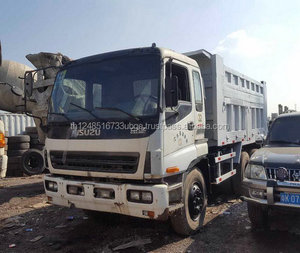 second hand Isuzu dump truck with high quality and low price in shanghai