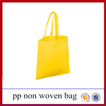 Wholesale eco-friendly pp non-woven tote bag shopping logo printed foldable punch non woven bag