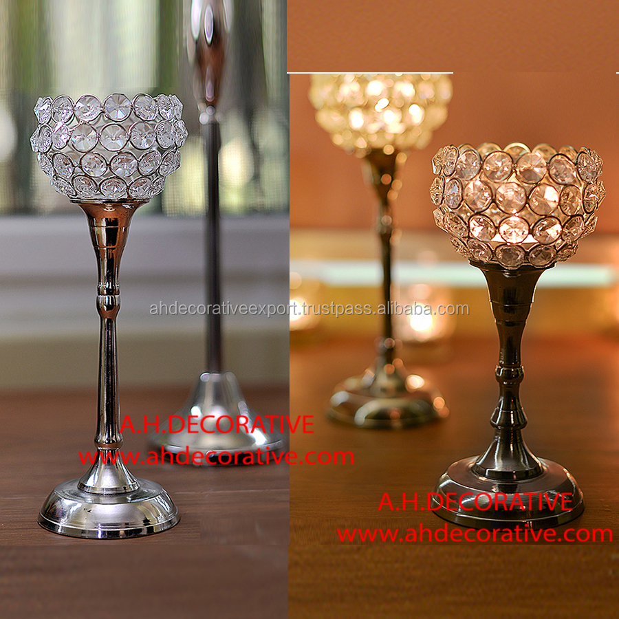 Centerpiece With Crystal Globe