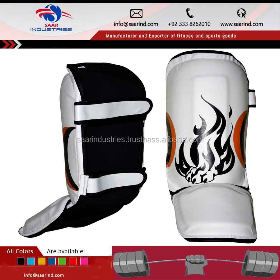 Special Muay Thai Shin Pads SGL10 Shin Guards Kick Boxing MMA S M L XL