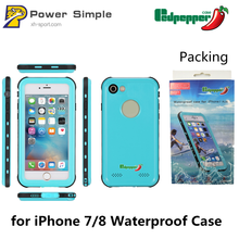Hot Selling Waterproof Phone Case for iPhone 7, Waterproof Universal Case for iPhone 8