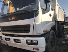 Used sinotruck isuzu 10 wheel tipper truck used dump isuzu truck for sale japan