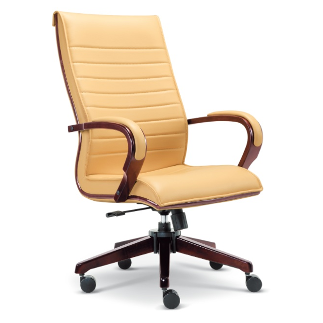 Wood Design High Back Executive Office Chair