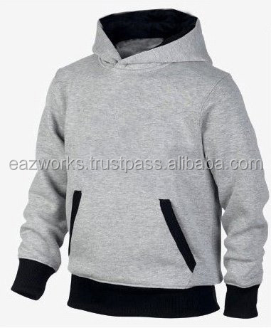 High Quality Blank Plain Cotton Fleece Hoodies