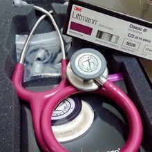 "3M Littmann 2122 Stethoscope Classic II 27"" 28"" Pediatric Red Raspberry Chocolate Edition - Pack 1 All Colors"
