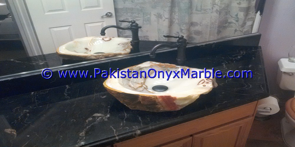 MARBLE VANITY TOP FOR RECTANGULAR SQUARE ROUNDS SINKS MODERN DESIGN STYLES DECOR HOME BATHROOM JET BLACK MARBLE