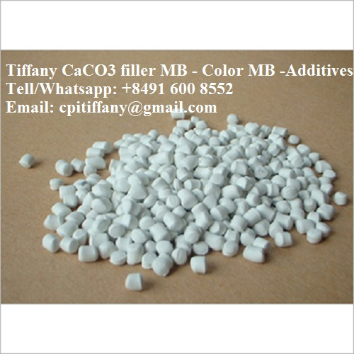 CACO3 Masterbatch/granules based LLDPE//HDPE/PP for plastic bag/bottle/jar/blowing film - From Vietnam