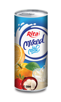 Rita Mixed Milk in 250ml aluminum can