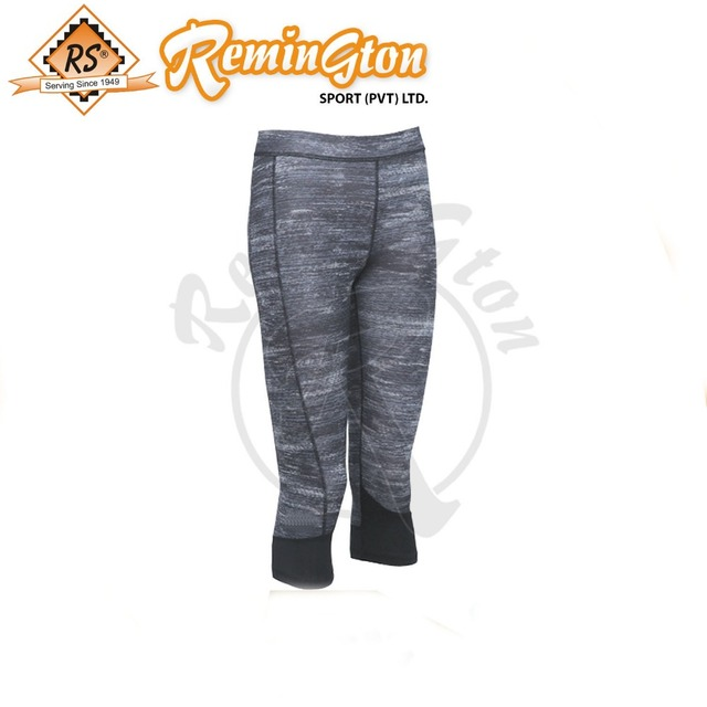 RF-204 Yoga Leggings three quarter women capris exercise Trousers Running Pants Girls Capri Workout Tights