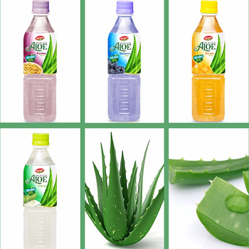 Fruit juices Aloe vera products export Aloe vera drink with Mango flavour in PET Bottle 500ml JOJONAVI beverage brands