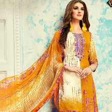 indian designer cotton printed salwar suit