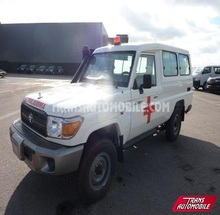 Toyota Land Cruiser 4x4 HZJ 78 Metal Top Ambulance. Ref 51