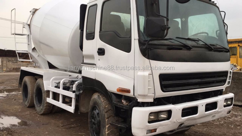 Used Truck Cement Mixer Isuzu 10PE of Isuzu all type Cement Mixer Truck for sale