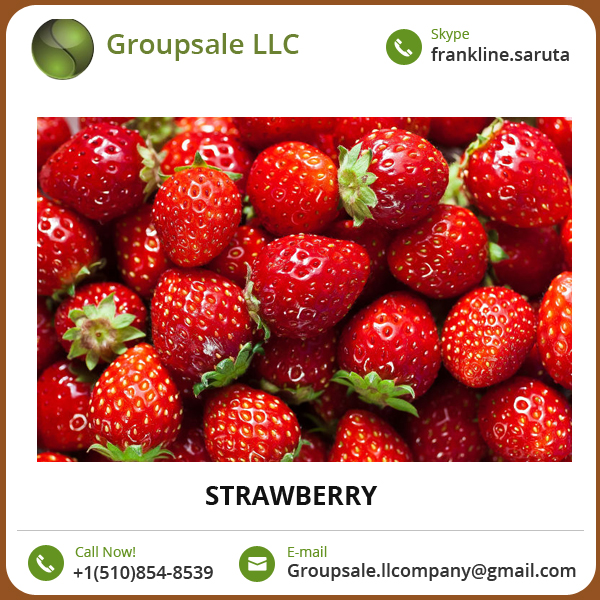 Rich Aroma, Bright Red Color, Juicy Texture Strawberry with Great Sweetness