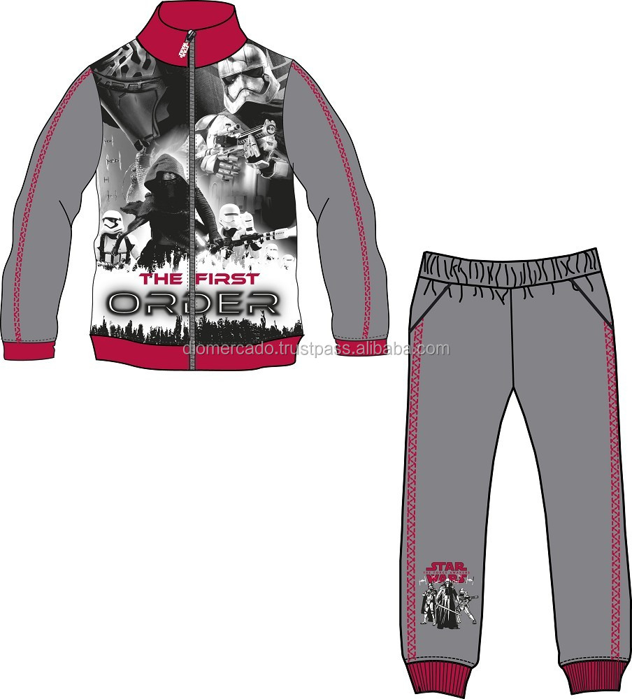 Jogging Suit Size 3-10 Years Star Wars