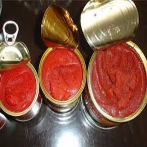 Canned tomato paste / tomato sauce / tomato ketchup with high quality