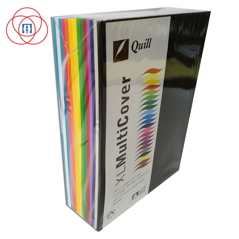 Premium Quality 80gr 120gr Color Paper Paper Color A4 Paper for Printing