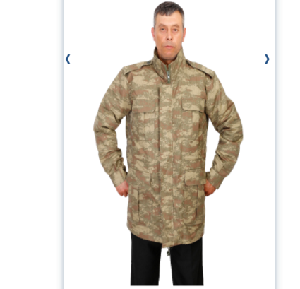 FD-MT 9068 MILITARY COAT