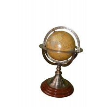 Rotating Swivel and Armillary Desktop World Earth Globe