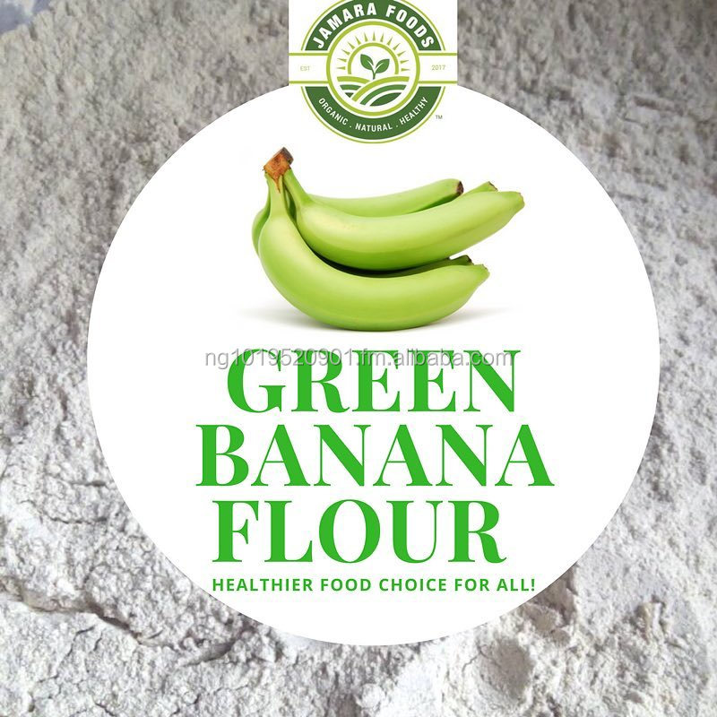 Highly Nutritious Organic Green Banana Flour
