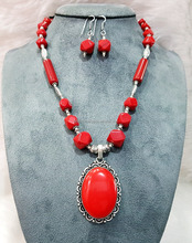 Elegant stylish high quality Semi precious stone necklaces with earrings manufacturer wholesale