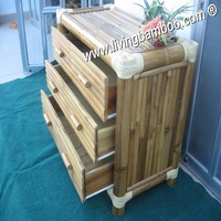 BAMBOO CABINET, INDOOR FURNITURE