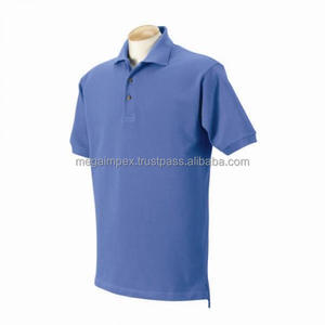 Ladies Polo T Shirts - New design High Quality fashionable blue color shirts sleeves ladies polo t shirts