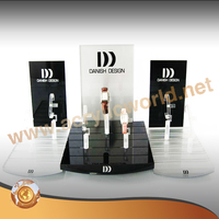 acrylic brand watch display stand with C ring holder