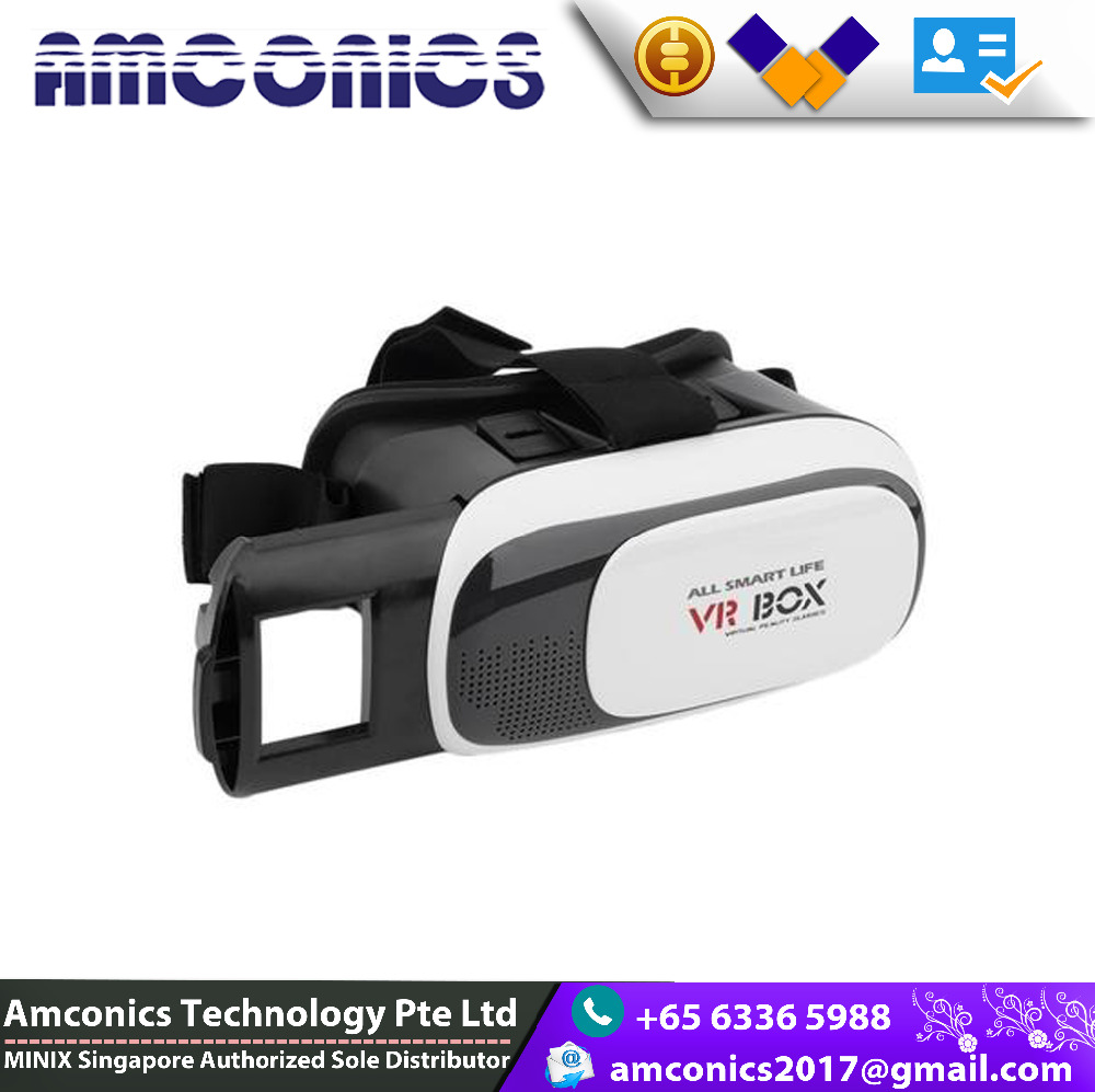 2016 Winhoo Virtual Reality vr box 2.0 for Android and ios smart phones Factory price support 3D Movie/Games/Video