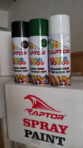 SPRAY PAINTS AEROSOL - SUPER QUALITY SPRAY PAINT - RAPTOR MADE IN CHINA