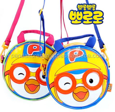 [PORORO] Theme Series Backpack Cross Bag For Boy, Girl, Children, Kids, Adult, Catoon bags, school bags, water bag