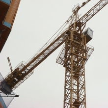 Used Tower Crane : Potain H30/23C Construction Tower Crane in South Korea