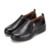LBSKOREA - 2201 high quality and fashion Women Casual Leather Shoes, functional shoes, Shock absorbers, black