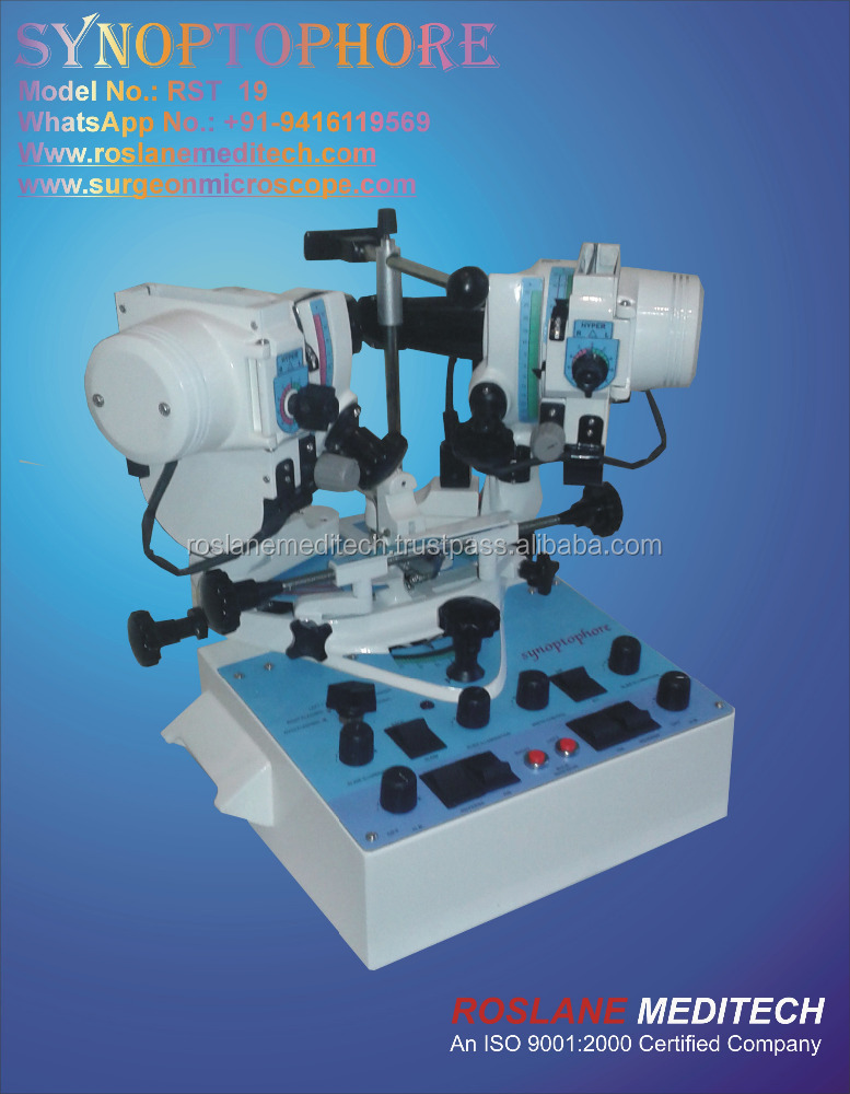 Synoptophore ophthalmic equipment, Synoptophore for sale, Synoptophore Manufacturers