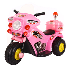 Top high end kids motorcycle 12 V / Battery Powered Baby motorcycle / plastic toys Electric Motor Children