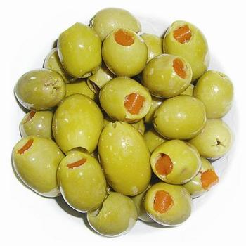 Grade A Pitted Green Olives