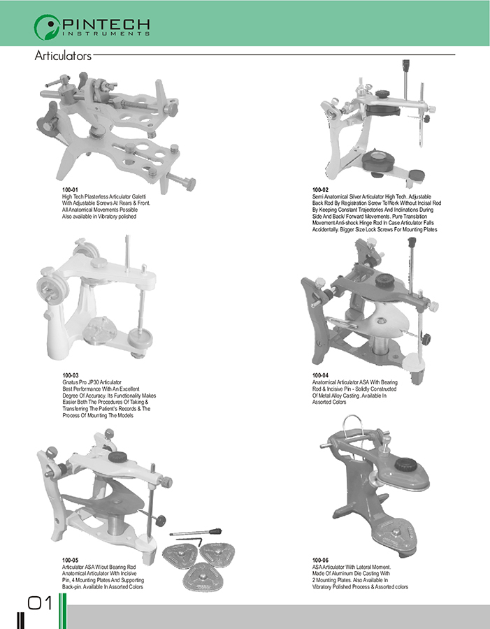 Dental Lab Articulators Dental Wholesale Articulators Dental Instruments Tools Pakistan