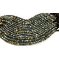 Labradorite roundel faceted wholesale beads