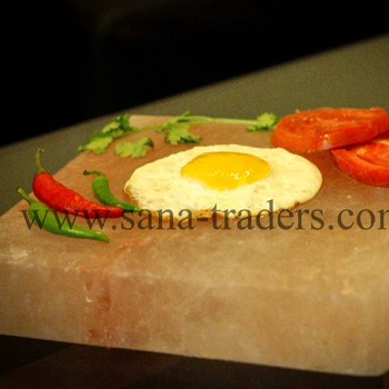 Cooking Salt Plate / Square Salt Plate / Food Grade Salt / Cooking Salt / Salt Plate / Pink Salt / Edible Salt Plate